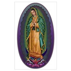 4 Lady of Guadalupe Poster