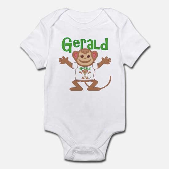 Little Monkey Gerald Infant Bodysuit