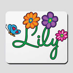 Lily Flowers Mousepad