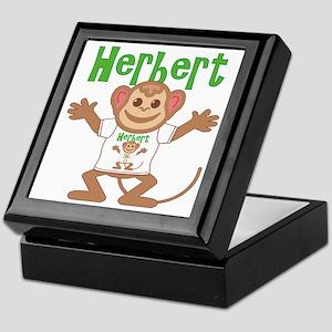 Little Monkey Herbert Keepsake Box