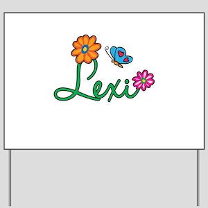 Lexi Flowers Yard Sign