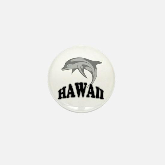 Hawaii Dolphin Souvenir Mini Button