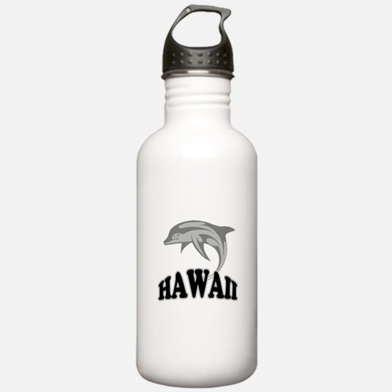 Hawaii Dolphin Souvenir Water Bottle