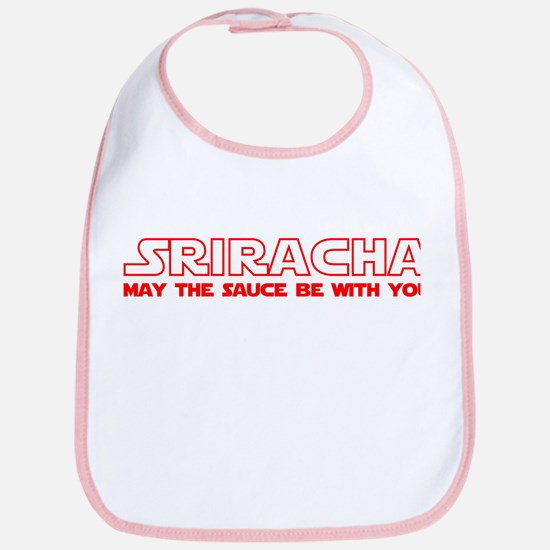 Sriracha - May The Sauce Be With You Bib