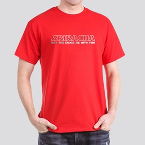 Sriracha - May The Sauce Be With You Dark T-Shirt