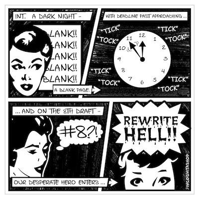 Rewrite Comic Poster