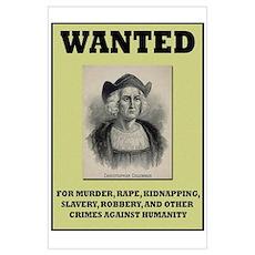 Columbus Wanted Poster