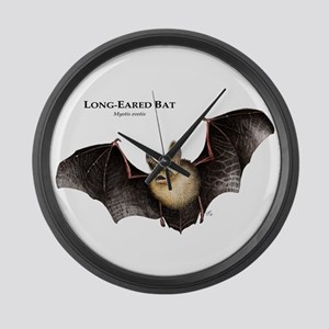Long-Eared Bat Large Wall Clock