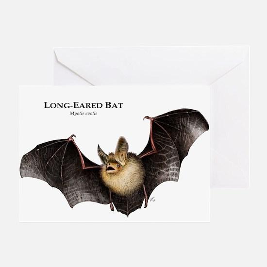 Long-Eared Bat Greeting Card