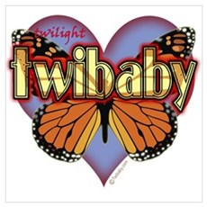 Twilight Twibaby Magic Butterfly Poster