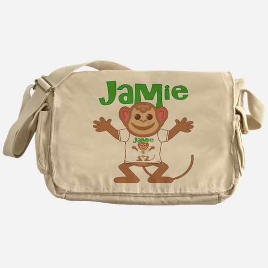 Little Monkey Jamie Messenger Bag