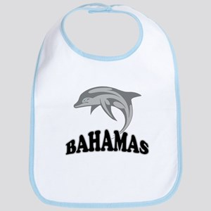 Bahamas Dolphin Souvenir Bib