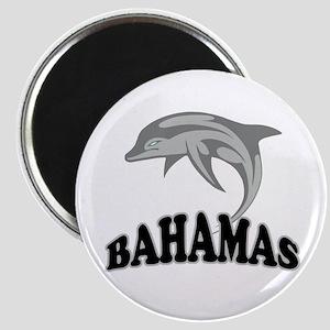 Bahamas Dolphin Souvenir Magnet