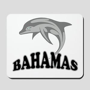 Bahamas Dolphin Souvenir Mousepad