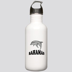 Bahamas Dolphin Souvenir Stainless Water Bottle 1.