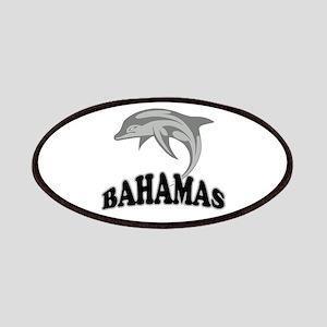 Bahamas Dolphin Souvenir Patches