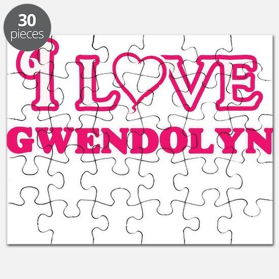 I Love Gwendolyn Puzzle