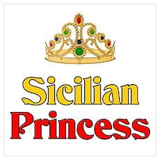 Sicilian Princess Poster