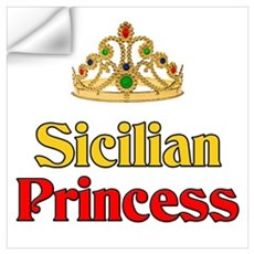 Sicilian Princess Wall Decal
