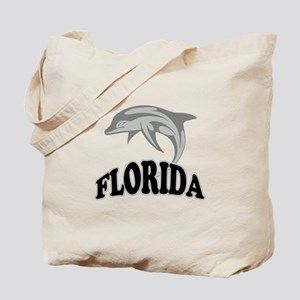 Florida Dolphin Souvenir Tote Bag
