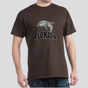 Florida Dolphin Souvenir Dark T-Shirt