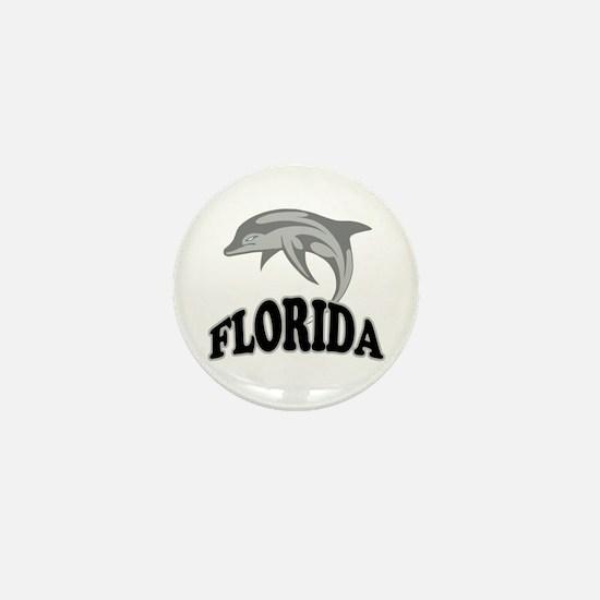 Florida Dolphin Souvenir Mini Button