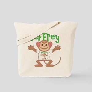 Little Monkey Jeffrey Tote Bag