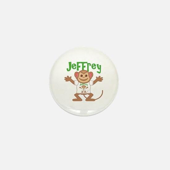 Little Monkey Jeffrey Mini Button