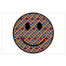 Autism Smiley Poster