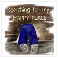 Searching for My HAPPY PLACE Poster