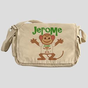 Little Monkey Jerome Messenger Bag