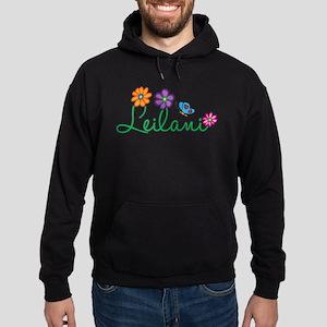 Leilani Flowers Hoodie (dark)