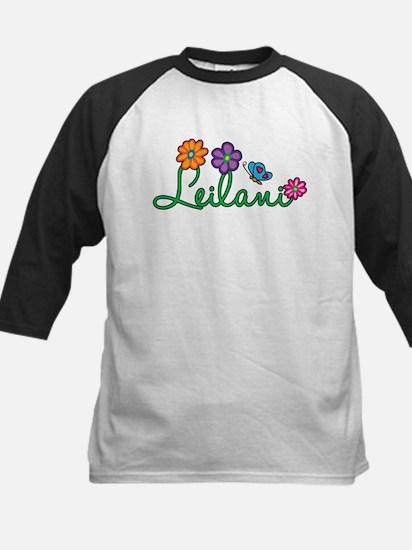 Leilani Flowers Kids Baseball Jersey