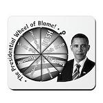 Wheel of Blame Mousepad
