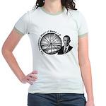 Wheel of Blame Jr. Ringer T-Shirt