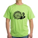 Wheel of Blame Green T-Shirt