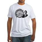 Wheel of Blame Fitted T-Shirt
