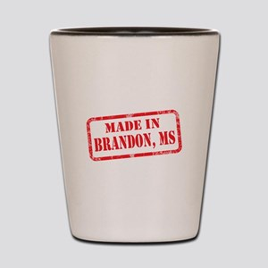 MADE IN BRANDON, MS Shot Glass