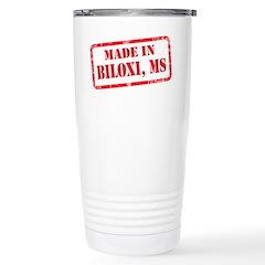 MADE IN BULOXI, MS Stainless Steel Travel Mug