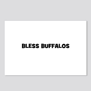 Bless Buffalos Postcards (Package of 8)