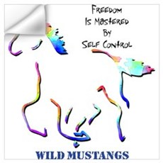 Wild Mustangs Wall Decal