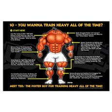 Train Heavy boy Poster