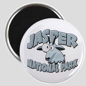 Jasper Natl Park Mountain Goat Magnet