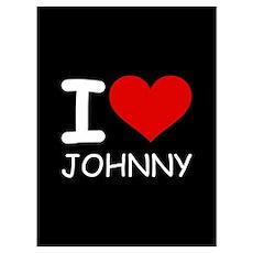 I LOVE JOHNNY Poster