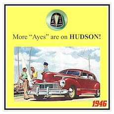 """1946 Pontiac Ad"" Poster"