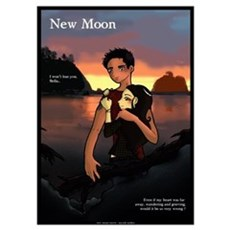 New Moon Jacob and Bella Poster