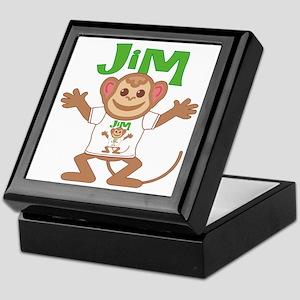 Little Monkey Jim Keepsake Box