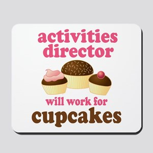 Funny Activities Director Mousepad