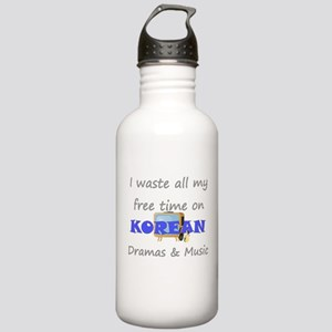 I waste all my time on Korean Stainless Water Bott