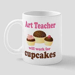 Funny Art Teacher Mug